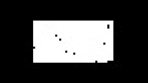 White dots good, black dots bad.